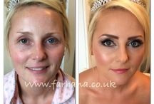 Makeovers - BEFORE /AFTERS / Before and Afters of my work, unedited makeup as you see it.