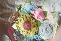 bouquet feltro