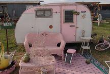 camping retro
