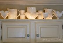 Cabinet displays / by Carol Berggren