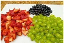 Fruit and Veggies / by Larissa Hicks