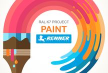 PAINT - RAL K7 COLOR PROJECT