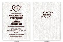 hanna's wedding invites / by Nikki Swanson