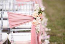 Decoración para la boda / Ideas para decorar el espacio y hacerlo único e irrepetible