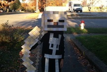 minecraft costumes / by Danielle Becker