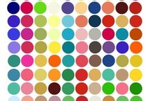 Colour inspiration / Making a board on colours that I like and that suit me.