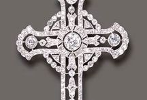 Jewelled crucifixes