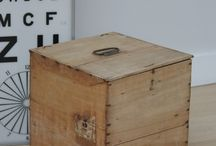 old boxes and chests