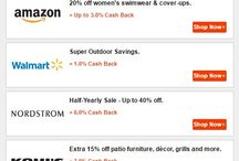 Hot Deals on Premium Online Shops/Stores / Why spend more? Why not spend less to get your favorite products you are looking for? Cash back rocks. We recommend you catch the hot deals. We love to save money and spend less. eBay, Amazon, Walmart, Nordstrom, Kohl's, macy's, SEPHORA, JCPenny, OLD NAVY, OVERSTOCK, lots of more brands.
