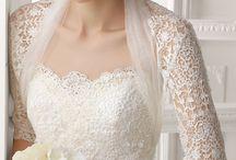Wedding sash, bolero