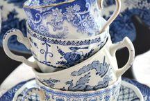 Delft Blue, Noritake, Fine China, Ivory, Silver...