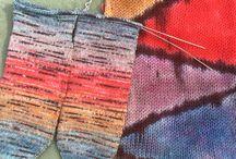 ✋ dyed yarn