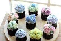 Flowering Cupcakes