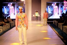 Kirti Rathore's Collection at RFW'13 / It wasn't just for females, Rajasthan Fashion Week had the fashion styles for men too. Check out designer Kirti Rathore's clothing range for men. Abhimanyu Singh walked the ramp for the designer.