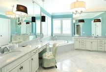 HOME ~ Bathroom / Decorating and remodeling ideas for Bathrooms / by Bentley Affendikis, REALTOR®