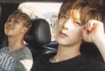 Namjin / Namjoon and Jin