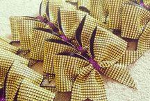 Cheer Bows / Cool cheer bows!