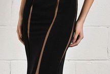 Siyah elbiseler