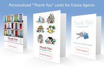 Thank You cards for Estate Agents / Sending greetings cards to your clients builds customer loyalty and increases customer referrals