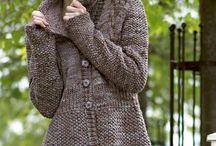 jacket/poncho - knit