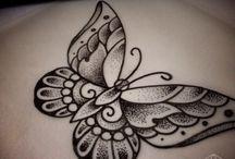 Pillangó Tetoválás