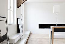 Inspired spaces / beautiful minimalistic spaces that inspire