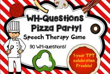 "Speech Therapy - ""WH"" Questions / by Katie Herbert"