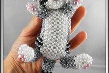 perles rocailles 3D