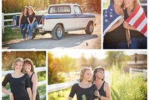 Senior pictures with parents