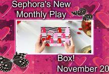 Sephora's Monthly Play Box