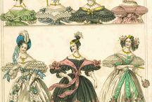 fashion plates 1830's