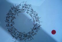 poemas visuais / Así se llama mi exposición que se podrá ver desde el 13 de diciembre 2013 hasta el 14 de febrero 2014 en el Candinga (Aller Ulloa 8, cerca de la Porta de Camiño en Compostela).