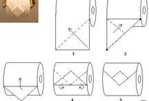 Origami Con Carta Igienica