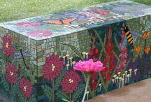 Mosaik och betong (utekonst)