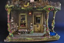 fairy houses / by Evelyn Peavy