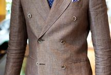 Double Breasted Jackets & Suits / Double breasted suits, jackets, and sport coats. Get style tips on how to wear these dapper pieces with shirts, neckties, pocket squares, tie bars, and more. / by Bows-N-Ties | Inspiration for Men's Ties, Bow Ties, & Neckties