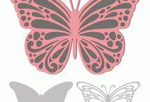 motyle : ażury
