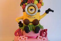 Frieda's 4th birthday Cake