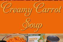 Creamy Carrott soup