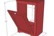 шкаф с откидной дверкой