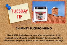 #tiptuesday / Tips on how and where to use SEAL-KRETE products