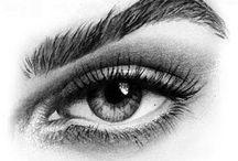 dibujo ojos