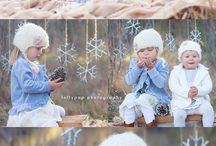 photography winter kids