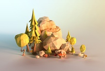 low poly cool