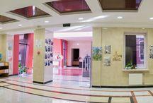 Країна мого дитинства / Художня виставка робіт учнів 8-14 років харківської дитячої художньої школи ім. І. Ю. Репіна у холі бібліотеки