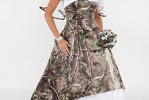 Camo Wedding Dresses / Camouflage for the bride! All items can be found at camoformal.com.#rusticweddings #weddings #camoweddings / by Camo Formal