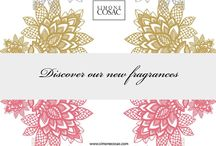 Discover our new fragrances / New perfumes of Simone Cosac