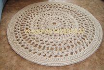 Order rug (на заказ ковры ажурные) / Crochet rug and other home interior items. Вяжу крючком ажурные ковры и другие предметы интерьера