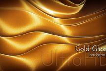 Golden Tone Surface / Golden Tone Surfaces, Gold Metal, Gold Color Design. #gold #golden