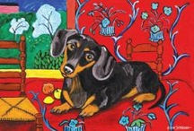 Weiner Dog Love / by Stephanie Cotton Simmons